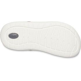 Crocs LiteRide Crocs, burgundy/white